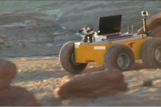 Mock Mission to Mars rover screenshot