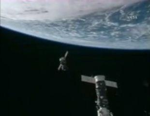 ISS Astronauts Swap Soyuz Spacecraft Parking Spots
