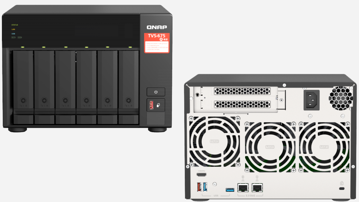 Qnap Launches NAS With Chinese x86 CPU: Zhaoxin-Based Model Available Worldwide