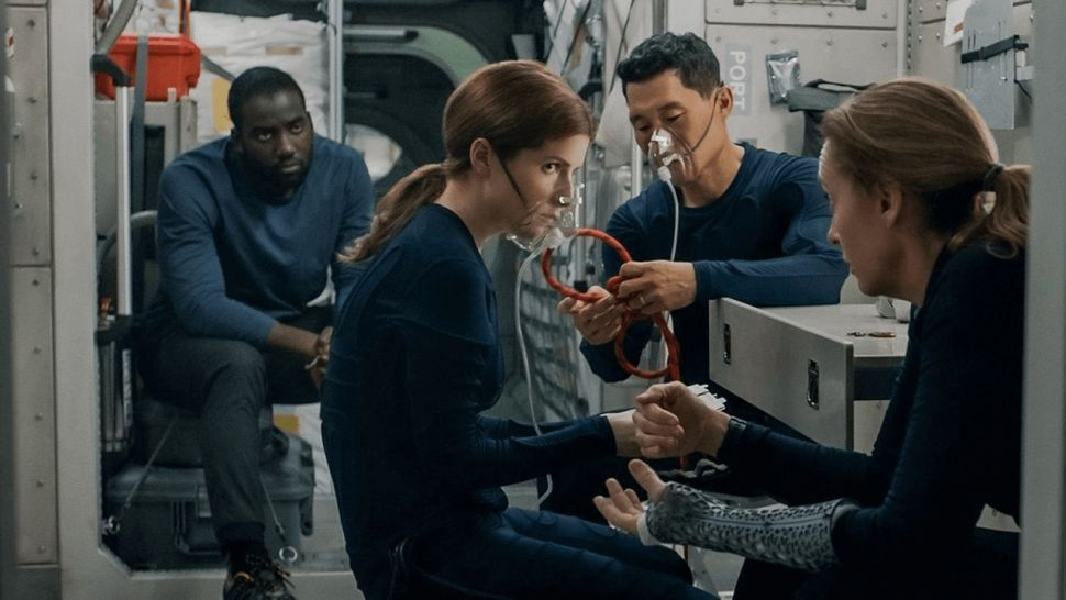 Netflix launches new Mars mission thriller 'Stowaway.' But will the air last?