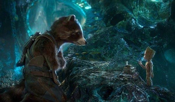Rocket Raccoon And Groot Bradley Cooper Vin Diesel Guardians of the Galaxy Volume 2 Marvel