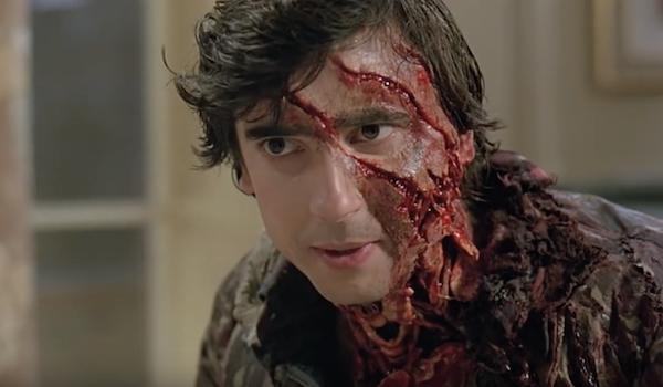 jack goodman's gross face in american werewolf in london