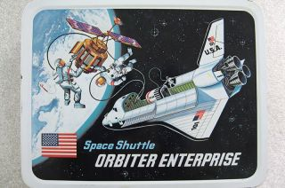 Space Shuttle Enterprise Lunchbox
