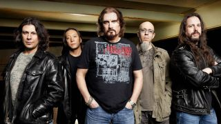 A promo shot of Dream Theater
