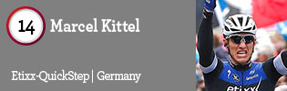 100 Best Road Riders of 2016: #14 Marcel Kittel