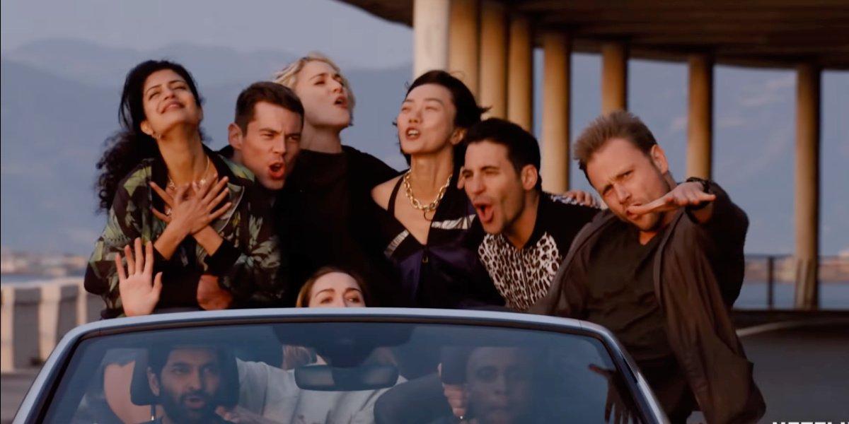 The cast of Sense8.