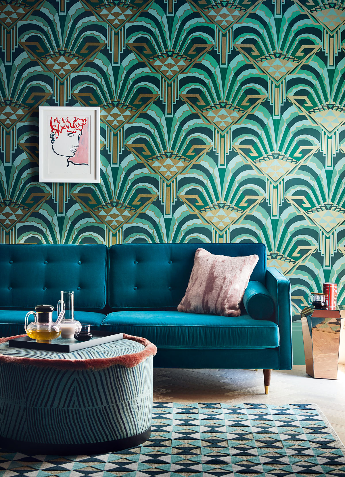 Art Deco Interiors The Great Gatsby And The Jazz Age Decorating Trend Livingetc