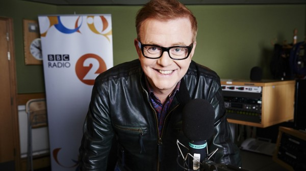 Chris Evans also hosts the breakfast show on BBC Radio 2