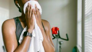 Peloton vs Echelon: image of woman after using exercise bike