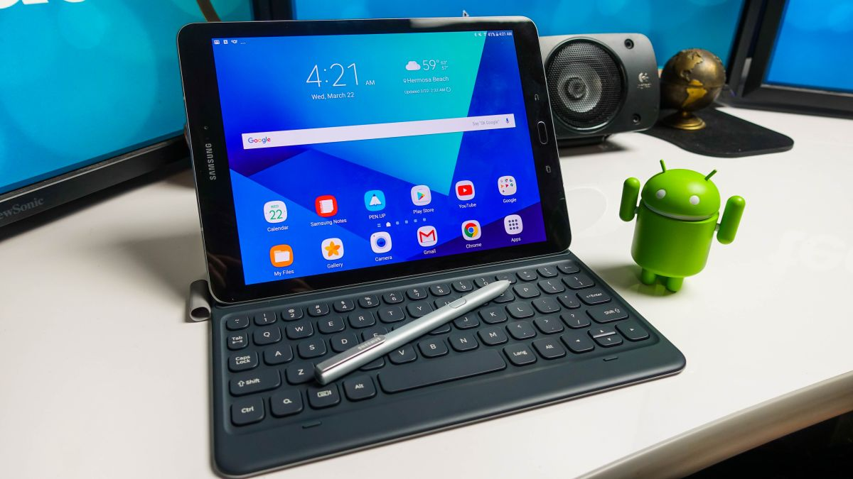 The next Samsung tablet may feature iris scanning and Dex support
