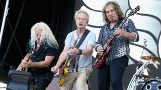 REO Speedwagon's Bruce Hall, Kevin Cronin and Dave Amato