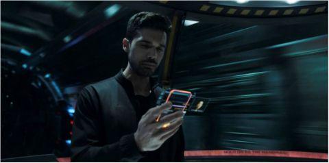 Steven Strait as James Holden in 'The Expanse'.