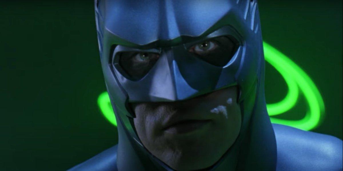 Val Kimer in Batman Forever