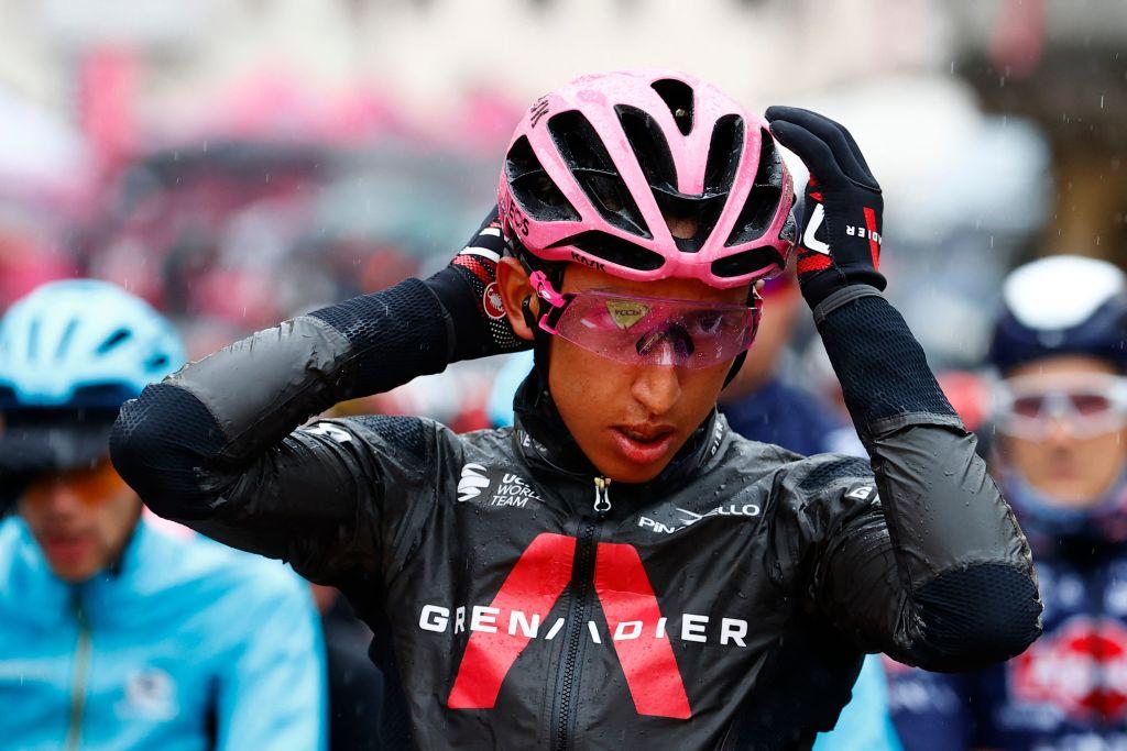 Giro d'Italia leader Egan Bernal (Ineos Grenadiers)