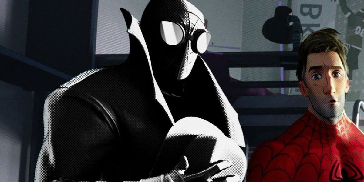 Spider-Man Noir in Spider-Man: Into the Spider-Verse