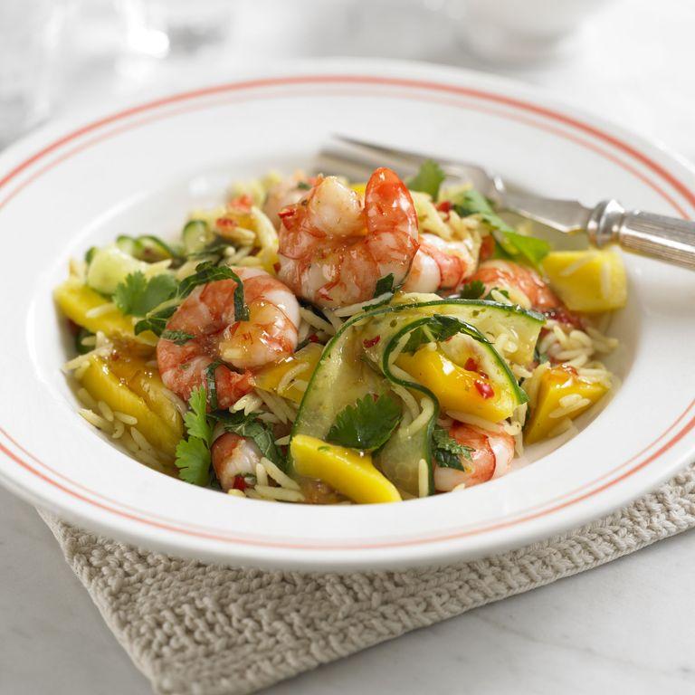 Prawn & Mango Rice Salad recipe-Prawn recipes-recipe ideas-new recipes-woman and home