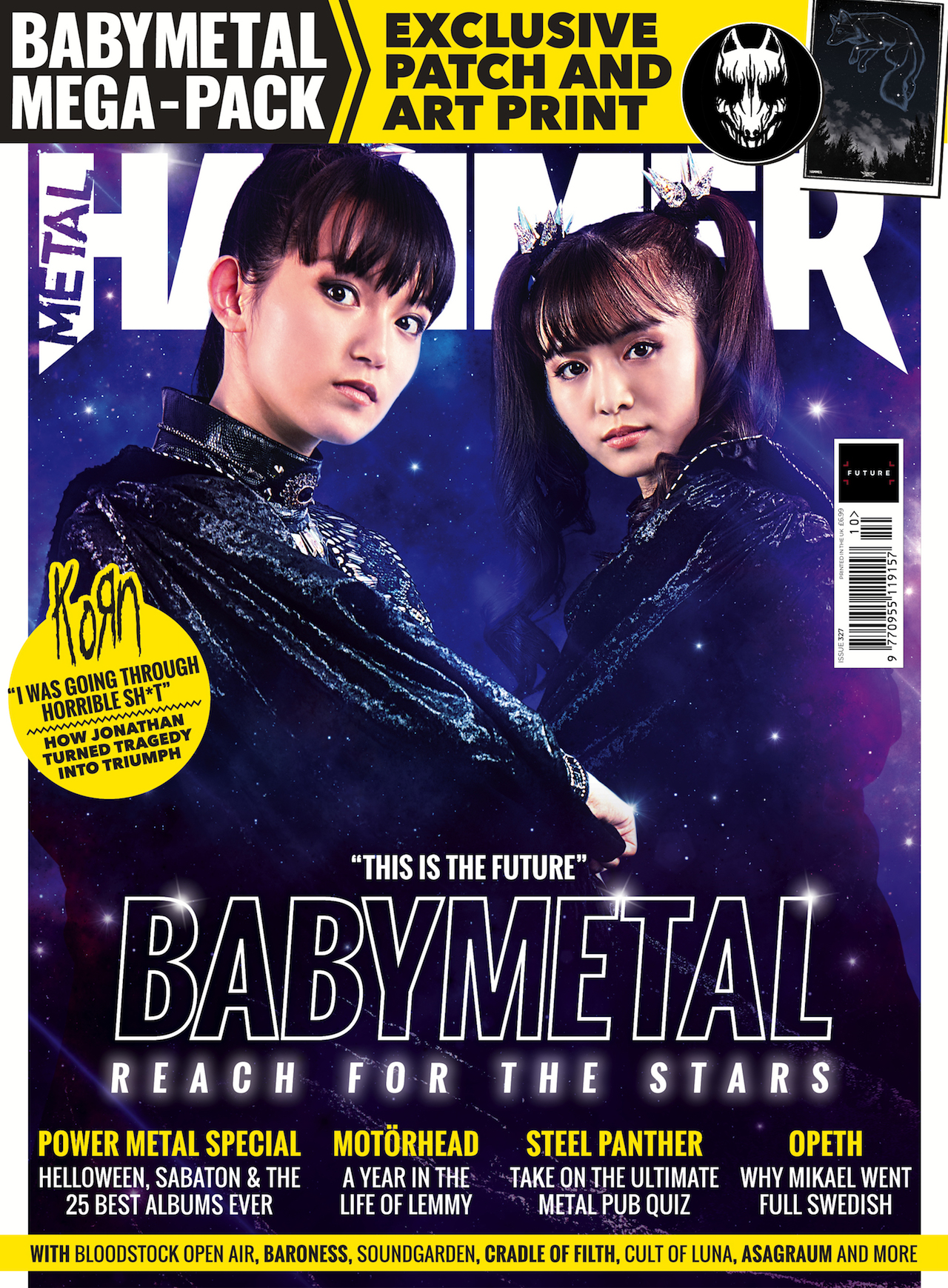 Babymetal are reaching for the stars in the new issue of Metal Hammer, out now! | Louder