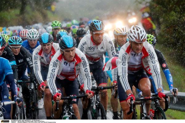 Great Britain, men's road race, Road World Championships 2013