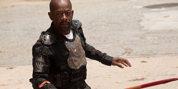 Morgan in Season 8 of The Walking Dead