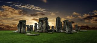 Stonehenge in Great Britain.