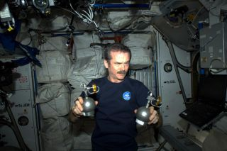 Chris Hadfield April Fools