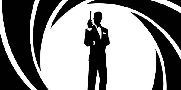 The James Bond sillouette