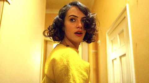 Jessica Brown Findlay in The Banishing.