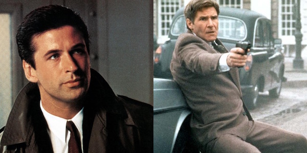 Alec Baldwin and Harrison Ford both as Jack Ryan