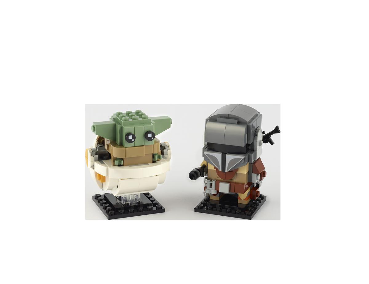 Lego unveils 'Baby Yoda' BrickHeadz and epic Razor Crest from 'The Mandalorian'