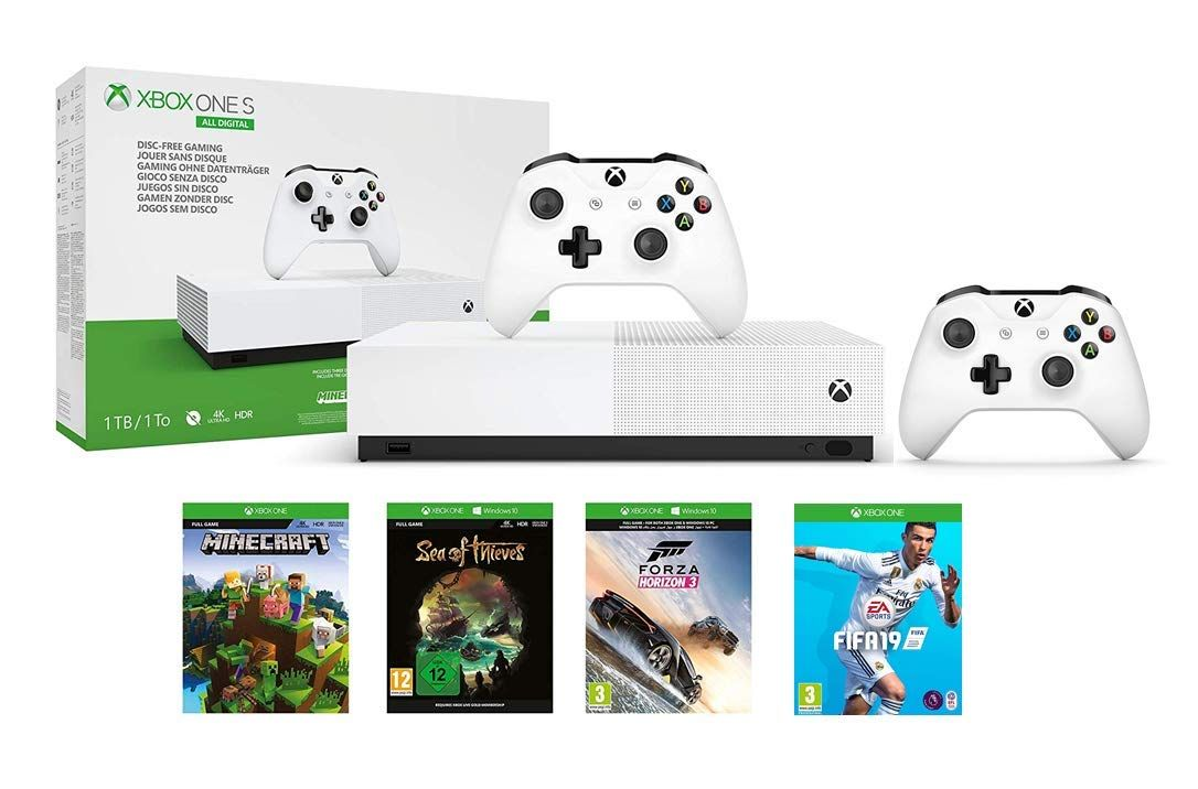 Amazon Prime Day MEGA DEAL on Xbox One S All Digital + 4