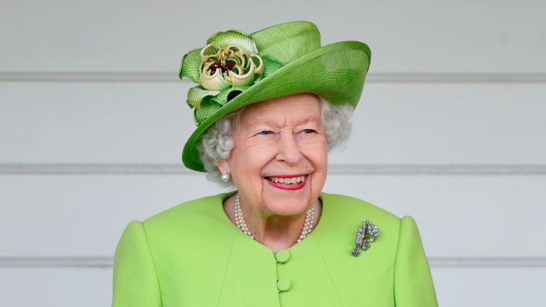 Queen Elizabeth attends the Out-Sourcing Inc. Royal Windsor Cup polo match