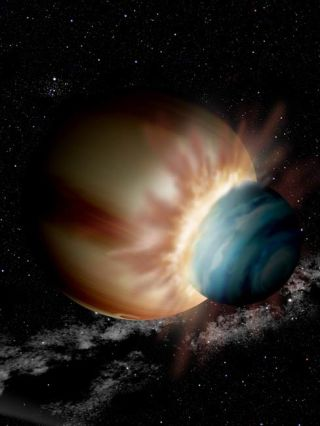 Faraway Planets Collided, Study Suggests