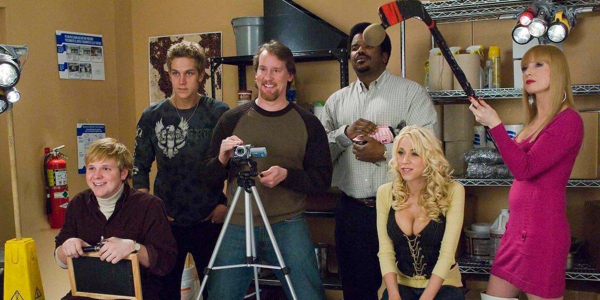 Zack and Miri Make A Porno the crew shoots their porno