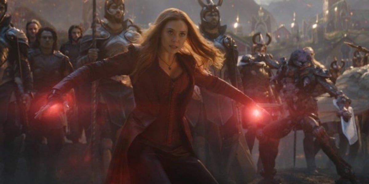 Elizabeth Olsen in Avengers: Endgame