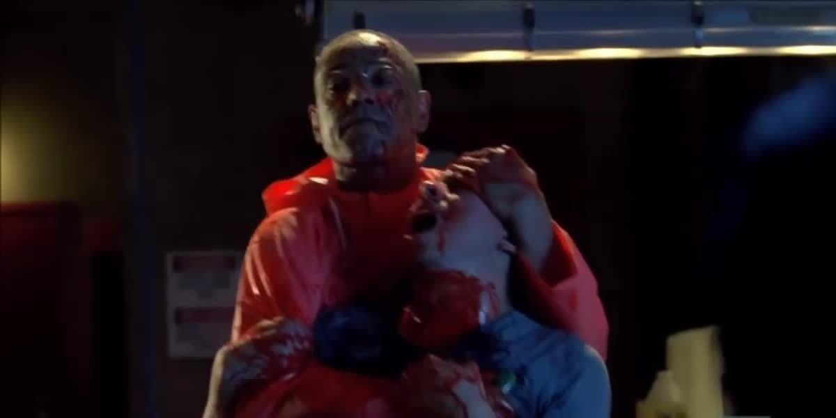 Gus killing Victor