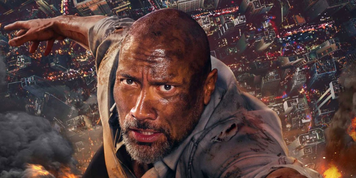 Dwayne Johnson in Skyscraper movie before he signed on with director for Red Notice