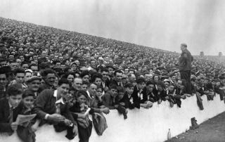 Maine Road 1947 Manchester derby