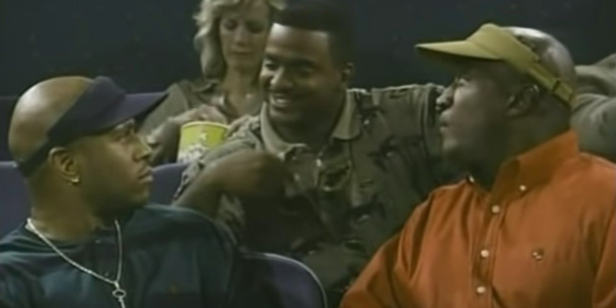 LL Cool J, Alfonso Ribeiro and John Amos on In The House (1995)