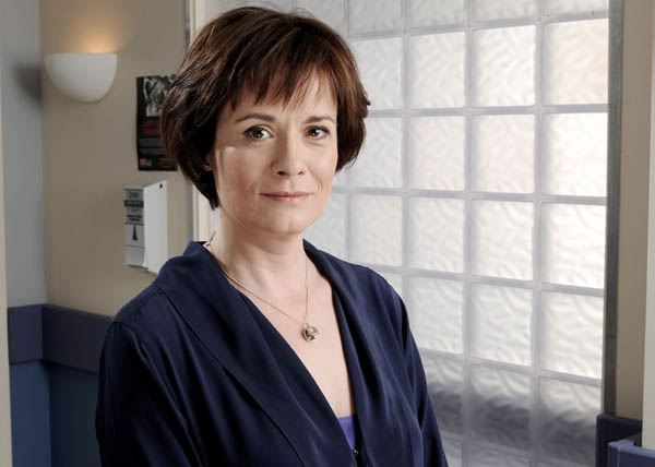 Holby's Catherine Russell: 'Why Serena's so scary'