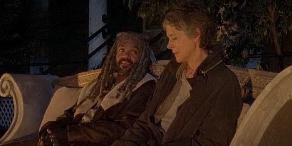 Carol and Ezekiel in The Kingdom