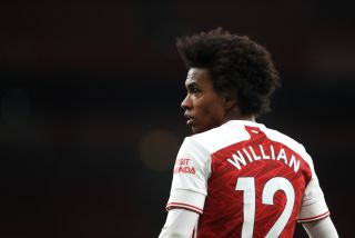 Willian has endured a slow start to life at Arsenal.