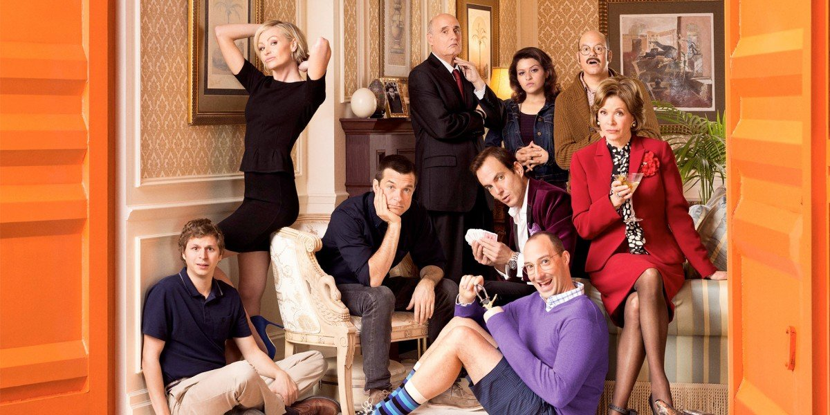 The cast of Arrested Development from Season 4.
