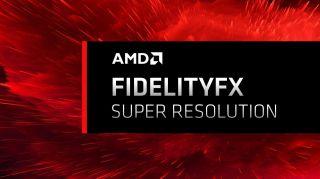 AMD render for the FidelityFX technology.