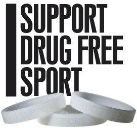 I support drug free sport