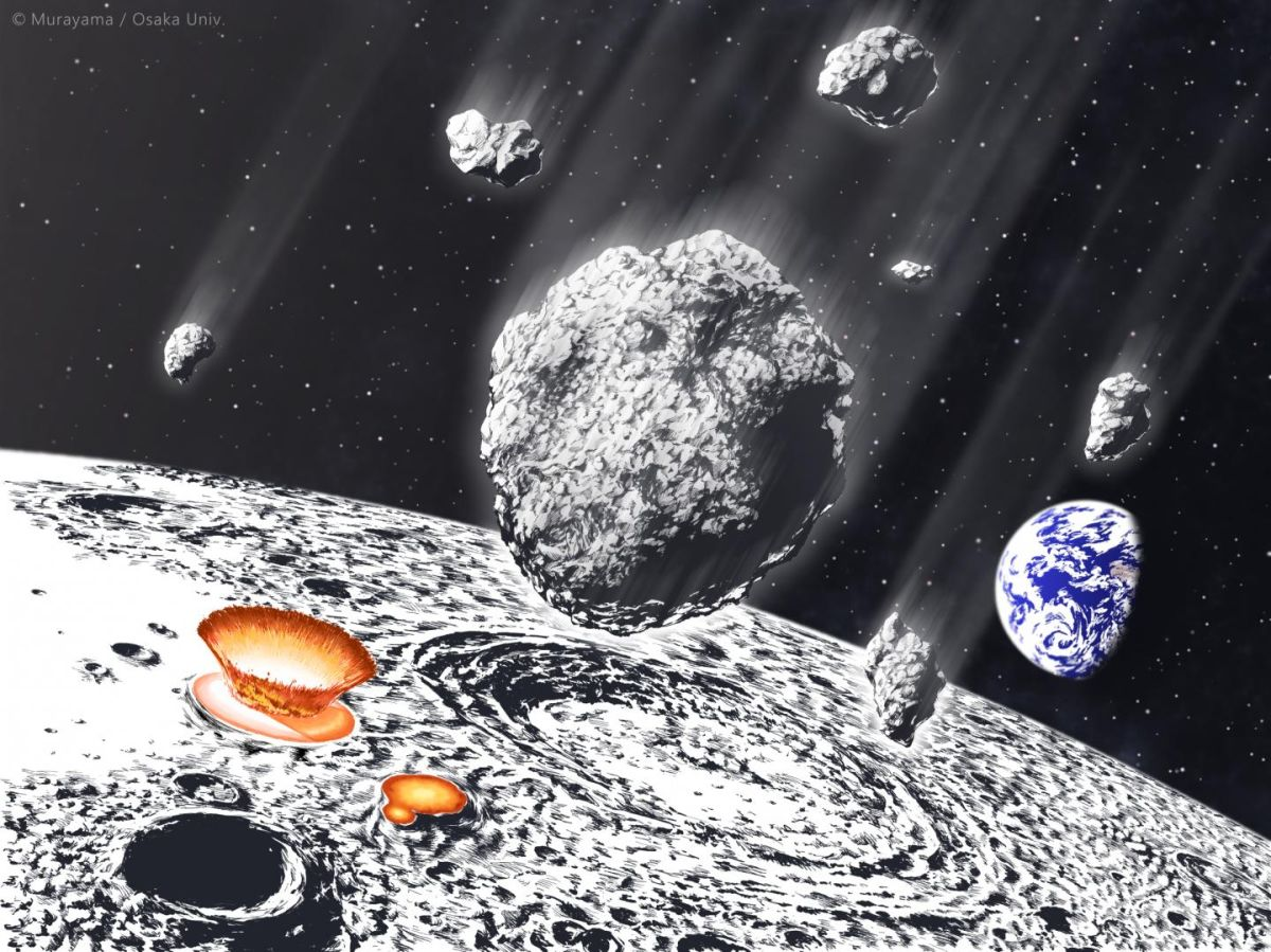Asteroid shower rained space rocks on Earth and the moon 800 million years ago