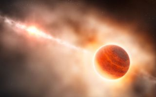 Gas Giant Planet Forming Around Star HD 100546