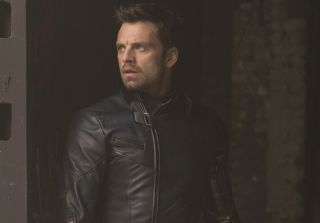Sebastian Stan as Bucky Barnes, alias The Winter Soldier