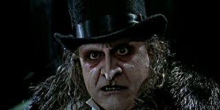 Penguin (Danny DeVito) grimaces in a scene from 'Batman Returns'