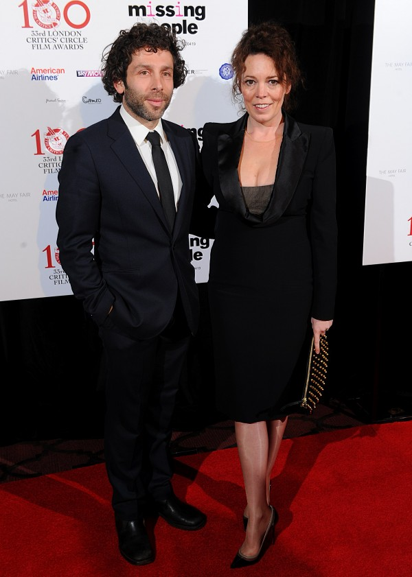 Olivia Colman and husband Ed Sinclair