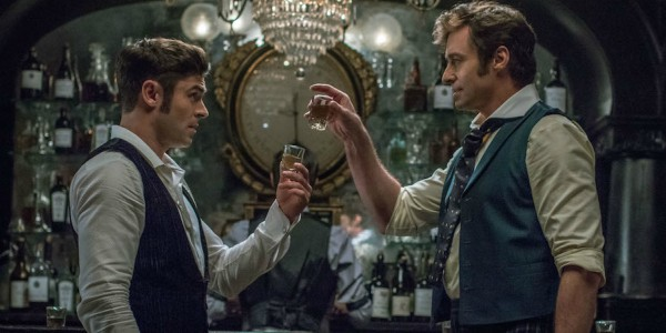 Hugh Jackman and Zac Efron in The Greatest Showman